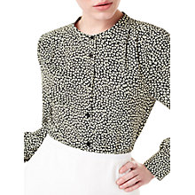 Buy Precis Petite Jeff Banks Heart Print Blouse, Multi Online at johnlewis.com