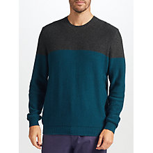 Buy John Lewis Colour Block Knit Jumper Online at johnlewis.com