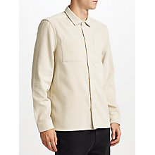 Buy Kin by John Lewis Jumbo Cord Shirt, Neutrals Online at johnlewis.com
