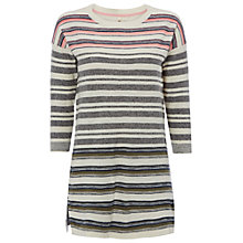 Buy White Stuff Ocean Stripe Tunic Top, Multi Online at johnlewis.com