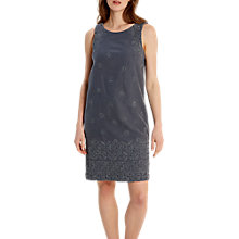 Buy White Stuff Antoinette Dress, Navy Online at johnlewis.com