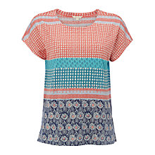 Buy White Stuff Spotty Stripe Jersey T-Shirt, Multi Online at johnlewis.com