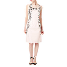 Buy Precis Petite Leila Embroidered Dress, Pink Online at johnlewis.com