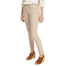 Buy Phase Eight Victoria Seam Detail Skinny Jeans, Stone Online at johnlewis.com