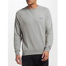 Buy Barbour International Skyway Sweatshirt, Grey Marl Online at johnlewis.com
