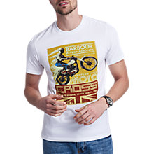 Buy Barbour International Motocross Crew Neck T-Shirt Online at johnlewis.com
