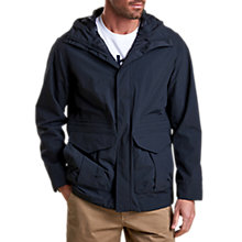 Buy Barbour Shaw Waterproof Jacket, Navy Online at johnlewis.com