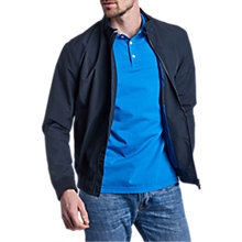 Buy Barbour International Runnel Waterproof Jacket, Navy Online at johnlewis.com