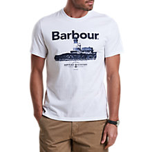 Buy Barbour Padstow Crew Neck T-Shirt Online at johnlewis.com