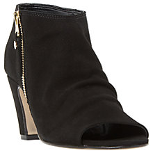 Buy Dune Isabela Peep Toe Shoe Boots, Black Online at johnlewis.com