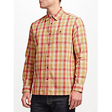 Buy JOHN LEWIS & Co. Bright Palette Check Shirt, Yellow Online at johnlewis.com