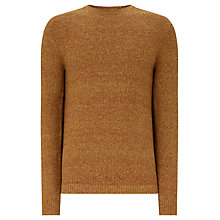 Buy JOHN LEWIS & Co. Twisted Yarn Silk Blend Jumper, Amber Online at johnlewis.com
