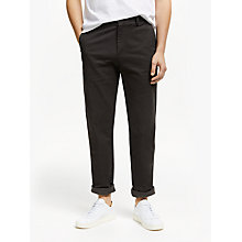 Buy John Lewis Essential Chinos, Olive Online at johnlewis.com