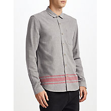 Buy Kin by John Lewis Bold Border Shirt, Grey Online at johnlewis.com