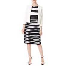 Buy Precis Petite Philippa Cropped Jacket, Ivory Online at johnlewis.com