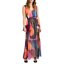 Buy Phase Eight Phoenix Maxi Dress, Black/Multi Online at johnlewis.com