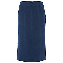 Buy White Stuff Backwater Jersey Skirt, Navy Online at johnlewis.com