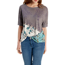 Buy White Stuff Graceful Jersey T-Shirt, Multi Online at johnlewis.com