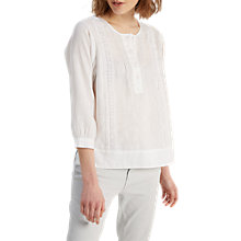 Buy White Stuff Lydia Shirt, White Online at johnlewis.com