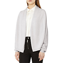 Buy Reiss Oscar Knitted Cardigan, Soft Grey Online at johnlewis.com