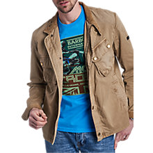 Buy Barbour International Schmoto Casual Jacket, Stone Online at johnlewis.com