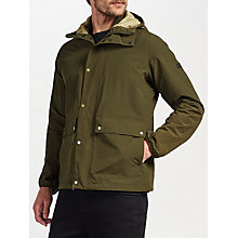 Buy Barbour International Weir Jacket, Olive Online at johnlewis.com