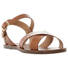 Buy Dune Wide Fit Laila Sandals Online at johnlewis.com