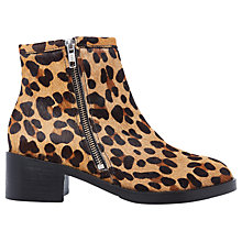 Buy Air & Grace Coachella Block Heeled Ankle Boots Online at johnlewis.com