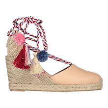 Buy Air & Grace Shimmie Wedge Heeled Espadrilles Online at johnlewis.com