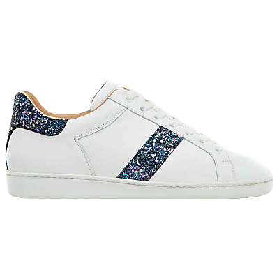 Air & Grace Copeland Lace Up Trainers, White