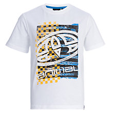 Buy Animal Boys' Printed T-Shirt, White Online at johnlewis.com