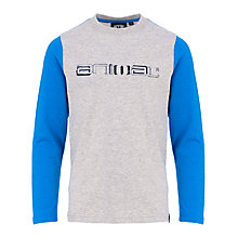 Buy Animal Boys' Long Sleeve Brice T-Shirt, Grey Online at johnlewis.com