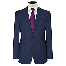 Buy Richard James Mayfair Wool Pindot Slim Suit Jacket, Navy Online at johnlewis.com