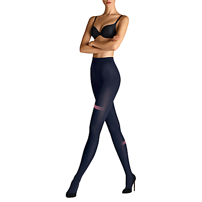 Wolford Velvet de Luxe 66 Opaque Tights, Admiral