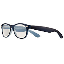 Buy Magnif Eyes Ready Readers Jackson Glasses, Marine Online at johnlewis.com