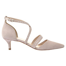 Buy Mint Velvet Belinda Studded Court Shoes, Rose Online at johnlewis.com