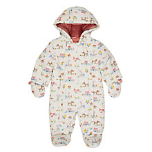 Buy John Lewis Baby Leckford All-Over Print Snowsuit, Multi Online at johnlewis.com