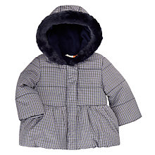 Buy John Lewis Baby Gingham Jacket, Blue Online at johnlewis.com