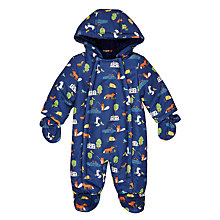 Buy John Lewis Baby Bala Lake All-Over Print Snowsuit, Multi Online at johnlewis.com