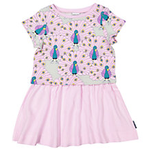 Buy Polarn O. Pyret Girls' Peacock Dress, Pink Online at johnlewis.com