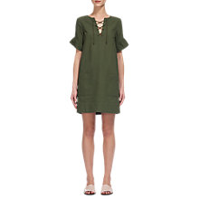 Buy Whistles Gemma Tie Front Dress Online at johnlewis.com