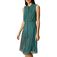 Buy Karen Millen Fluid Stripe Dress, Multi Online at johnlewis.com