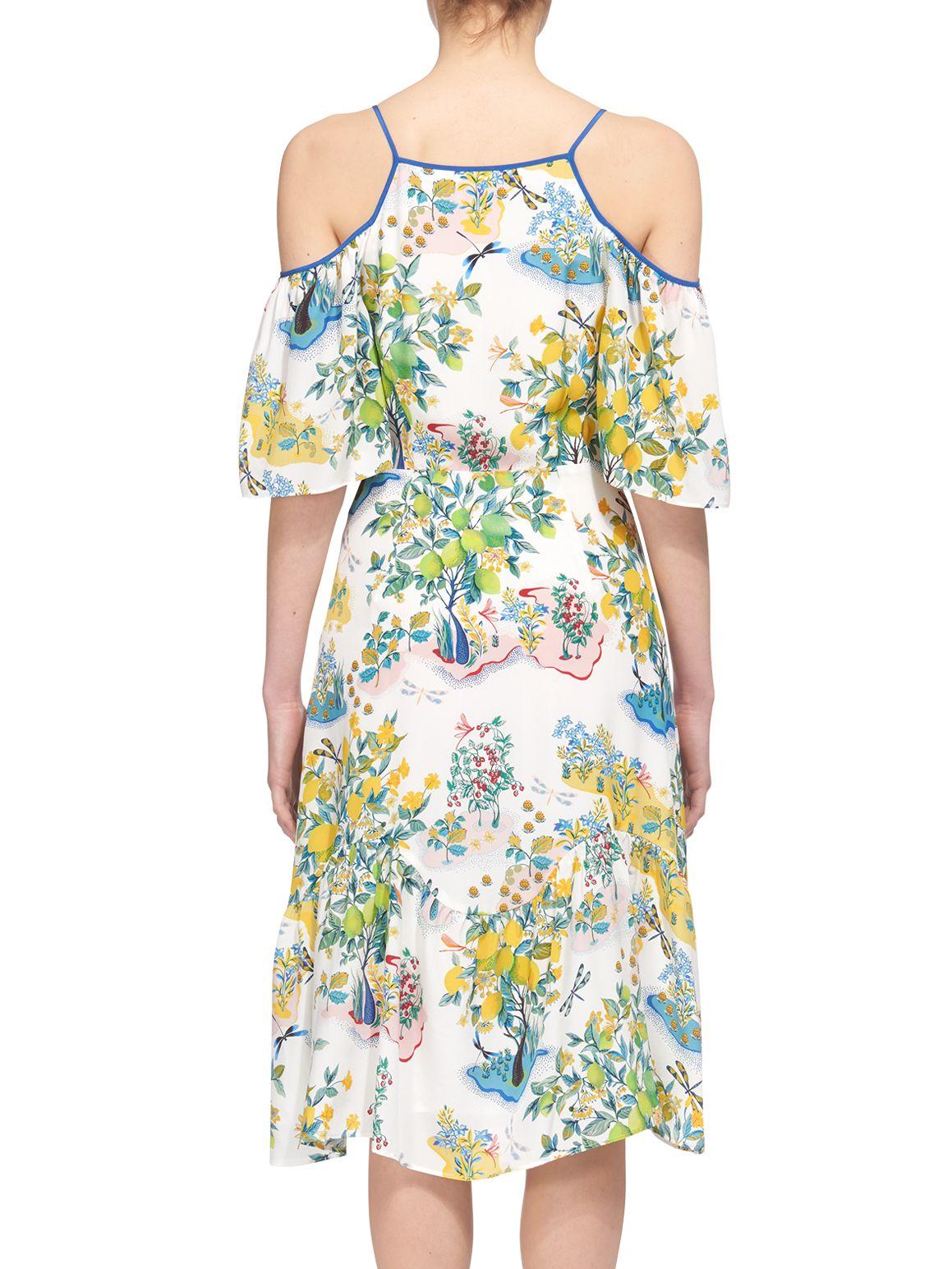 Buy Whistles Cold Shoulder Garden Dress Multi John Lewis