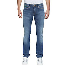 Buy Hilfiger Denim Slim Scanton Jeans, Dynamic True Mid Wash Online at johnlewis.com