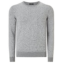 Buy J. Lindeberg Paulo Jersey Top, Light Grey Online at johnlewis.com