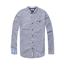Buy Hilfiger Denim Regular Solid Shirt, Vulcan Online at johnlewis.com