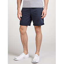 Buy J. Lindeberg Nathan Chino Shorts, Navy Online at johnlewis.com