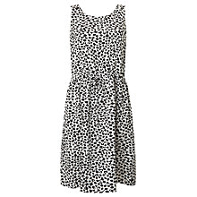 Buy Numph Evony Dress, Black/White Online at johnlewis.com