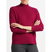 Buy John Lewis Ripple Hem Turtle Neck Jumper Online at johnlewis.com
