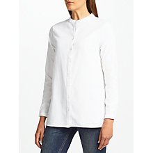 Buy John Lewis Warm Handle Long Shirt, White Online at johnlewis.com